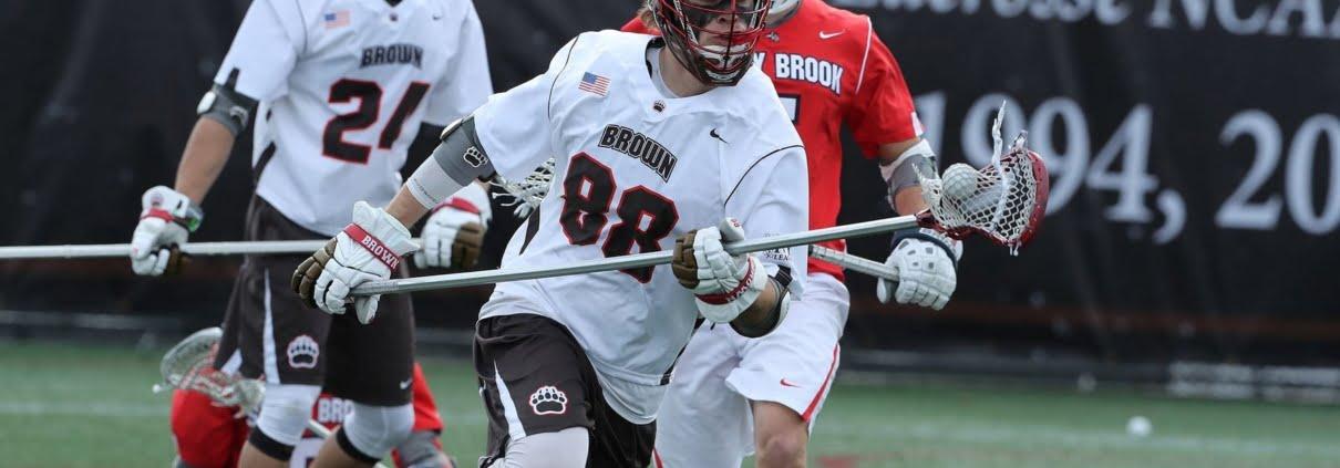 brown lacrosse 5 on 4 clear passing slow break practice drill